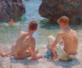 Henry Scott Tuke The Critics