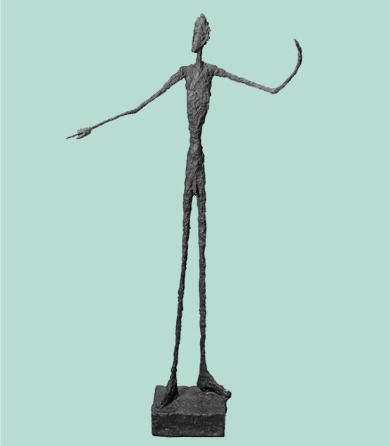 Alberto Giacometti Man Pointing 1947