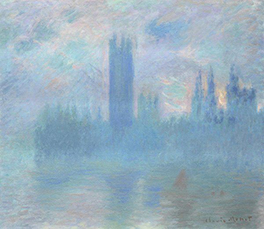 Monet, House of Parliament c. 1900