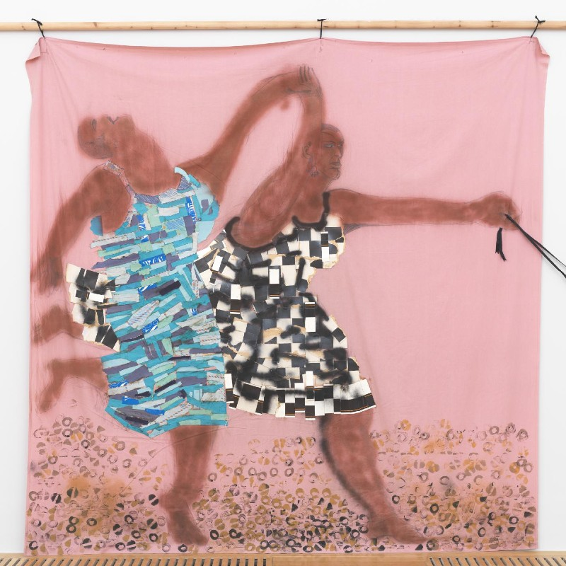 'Freedom and Change' by the artist Lubaina Himid