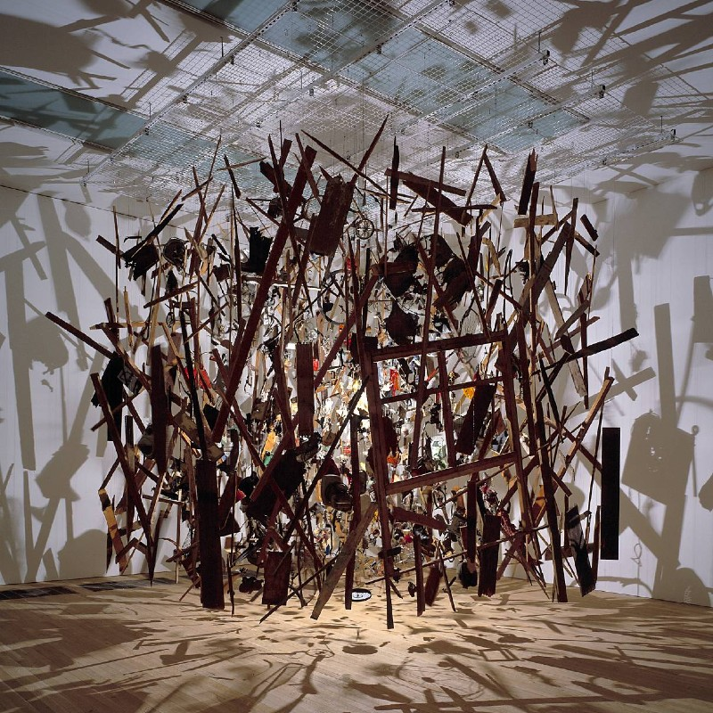 'Cold Dark Matter: An Exploded View' by Cornelia Parker