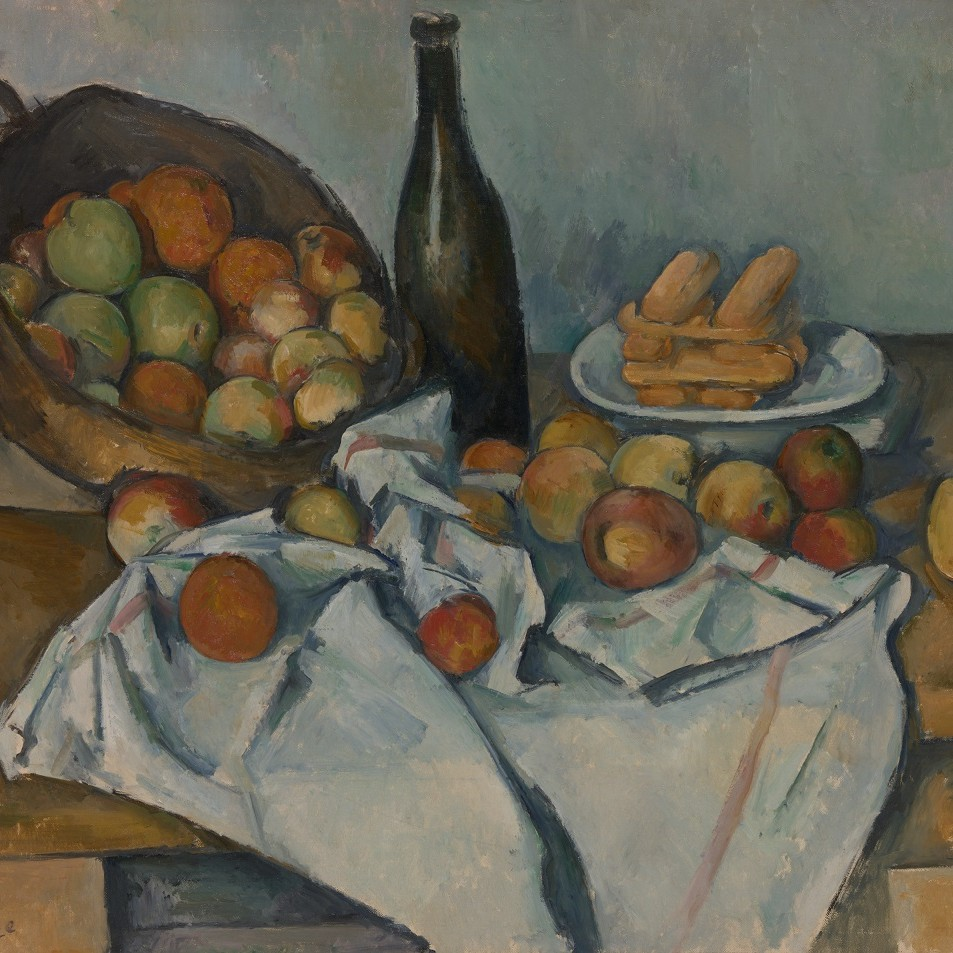 'The Basket of Apples' by Paul Cézanne